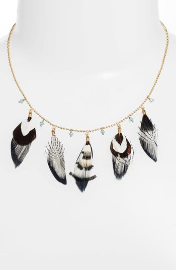 Gas Bijoux FEATHER COLLAR NECKLACE