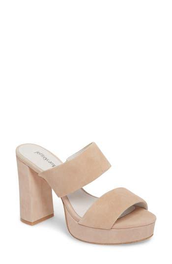Jeffrey Campbell Adriana Double Band Platform Sandal, Pink