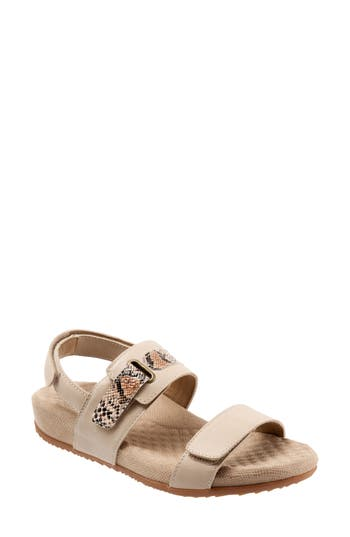 Women's Softwalk Bimmer Sandal, Size 6 N - Beige