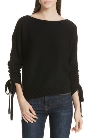 Joie Dannee Wool & Cashmere Sweater, Black