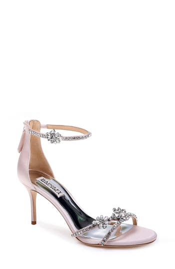 Badgley Mischka Hobbs Ankle Strap Sandal, Pink