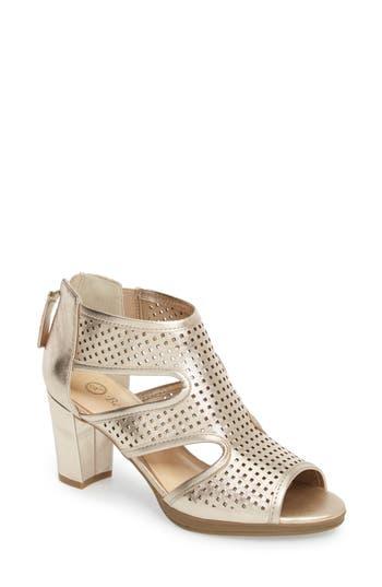 Women's Bella Vita Leslie Sandal, Size 9.5 N - Metallic