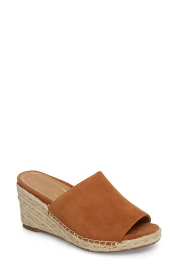 Vionic Kadyn Espadrille Wedge Sandal, Brown