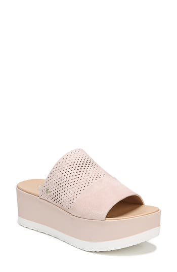 Women's Dr. Scholl's Collins Platform Sandal, Size 9 M - Pink