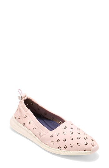 Cole Haan Studiogrand Perforated Slip-On, Pink