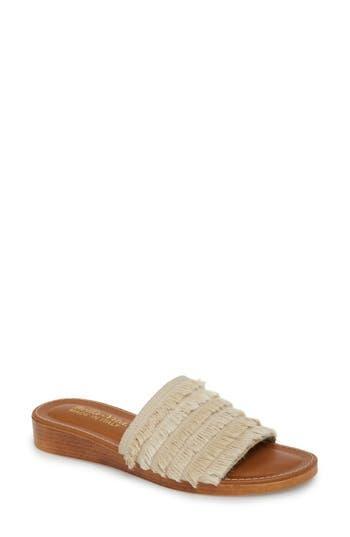 Women's Bella Vita Abi Slide Sandal, Size 6 W - Beige