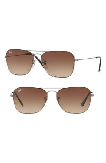 Ray-Ban Youngster 5m Aviator Sunglasses - Gunmetal