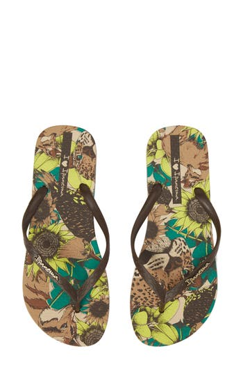 Women's Ipanema Beauty Print Flip Flop