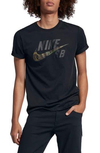 Nike Sb Dry Crewneck T-Shirt, Black