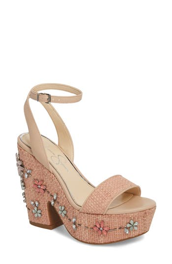Jessica Simpson Cressia Platform Sandal, Pink