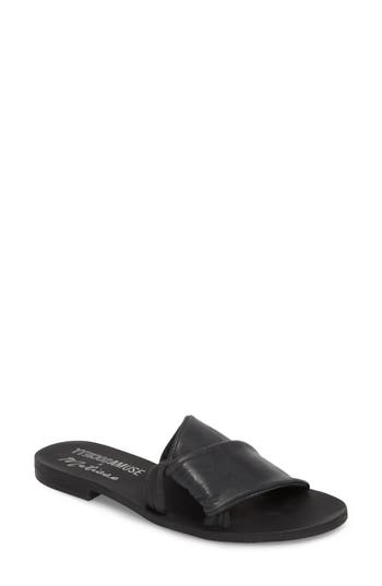 Amuse Society X Matisse Capri Slide Sandal, Black