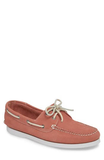 1901 Pacific Boat Shoe- Pink