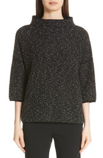 Max Mara Luis Wool Blend Sweater, Black