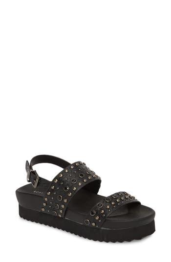 Very Volatile Milan Platform Sandal, Black