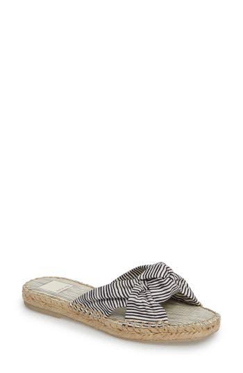 Dolce Vita Benicia Knotted Slide Sandal, White