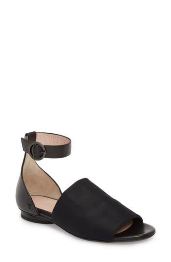 Taryn Rose Collection Donya Ankle Strap Sandal, Black