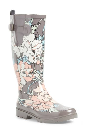 Sakroots Rhythm Waterproof Rain Boot, Pink