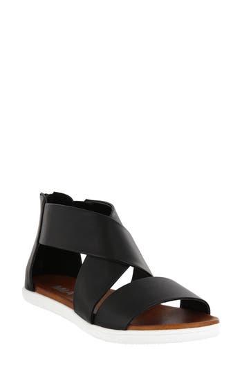Women's Mia Deana Sandal, Size 7.5 M - Black