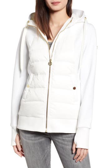Michael Michael Kors Hybrid Hooded Down Jacket