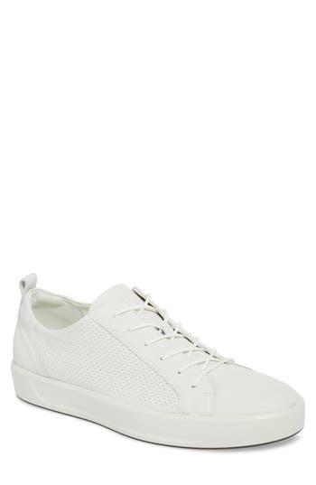 Ecco Soft 8 Sneaker,12.5 - White