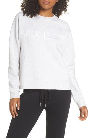 Brunette The Label Brunette Sweatshirt, Beige