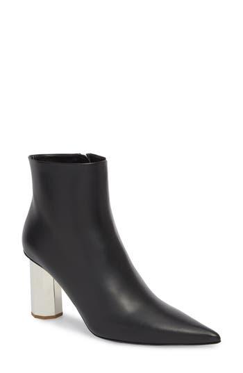 Proenza Schouler Galvanic Heel Bootie, Black