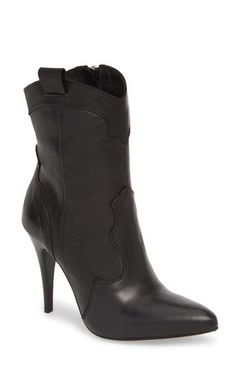 Charles David Kimberly Western Bootie EU - Black