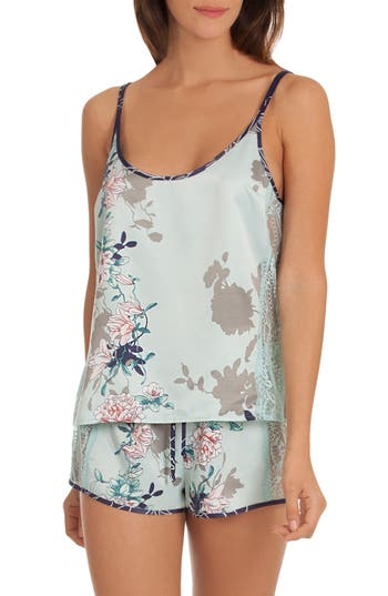 In Bloom By Jonquil Camilia Short Pajamas, Blue