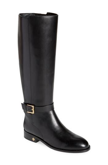 Tory Burch Brooke Knee High Boot, Black