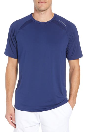 Vineyard Vines Mesh Inset T-Shirt, Blue