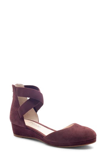 Blondo Cathy Waterproof Wedge Pump- Red