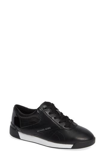 Addie Lace-Up Sneaker, Black