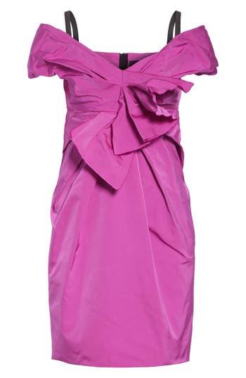 Marc Jacobs Taffeta Off The Shoulder Dress, Pink