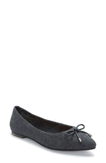 Me Too Alisia Pointy Toe Flat- Grey
