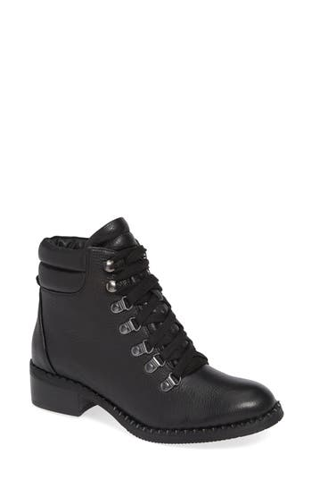 Gentle Souls By Kenneth Cole Brooklyn Combat Boot, Black