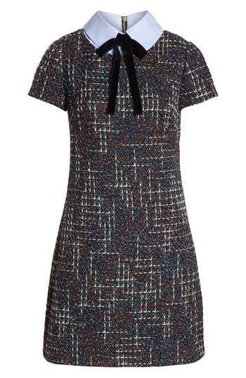 1960s Dresses | 60s Dresses Mod, Mini, Jakie O, Hippie 1901 Tweed Shift Dress Size 12P - Black $119.00 AT vintagedancer.com