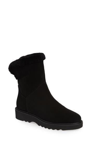 Aquatalia Kaitlyn Genuine Shearling Boot, Black