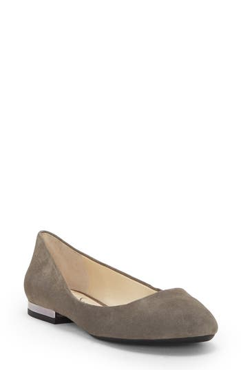 Jessica Simpson Ginly Ballet Flat, Grey