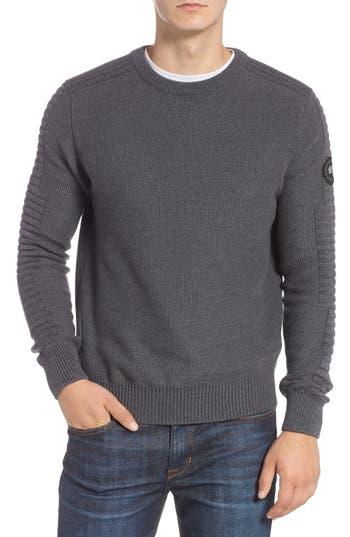 Canada Goose Paterson Regular Fit Merino Sweater, Grey