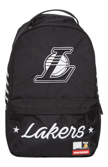 Los Angeles Lakers Cargo Backpack - Black