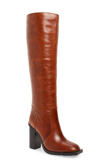 Jeffrey Campbell Ittonia Knee High Boot, Brown