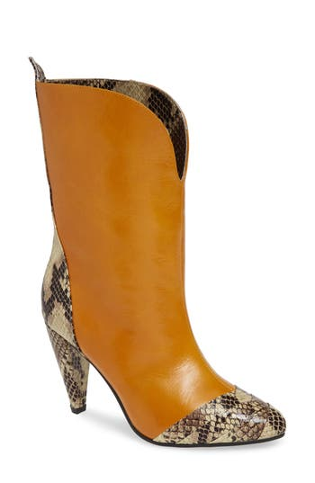 Jeffrey Campbell Decay Bootie- Yellow