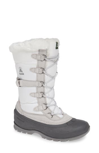 Kamik Snovalley2 Waterproof Thinsulate-Insulated Snow Boot, White