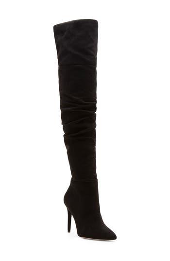 Jessica Simpson Luxella Over The Knee Boot, Black