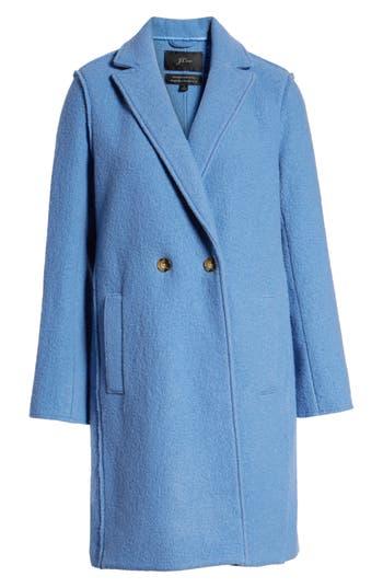Plus Size J.crew Daphne Boiled Wool Topcoat, (similar to 1) - Green