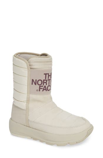 The North Face Ozone Park Waterproof Boot, White