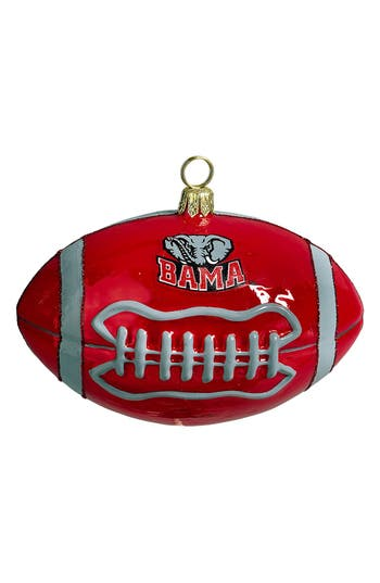 Joy To The World Collectibles 'College Football' Ornament, Size One Size - Red
