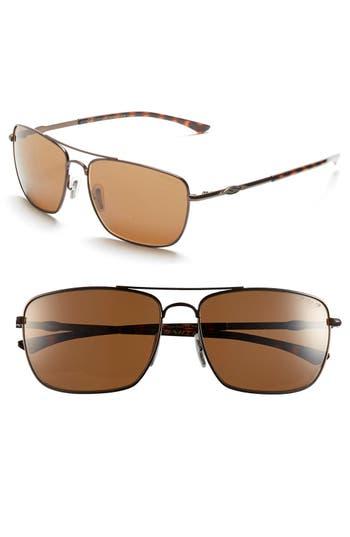 Women's Smith 'Nomad' 59Mm Polarized Sunglasses - Matte Brown/ Polar Brown