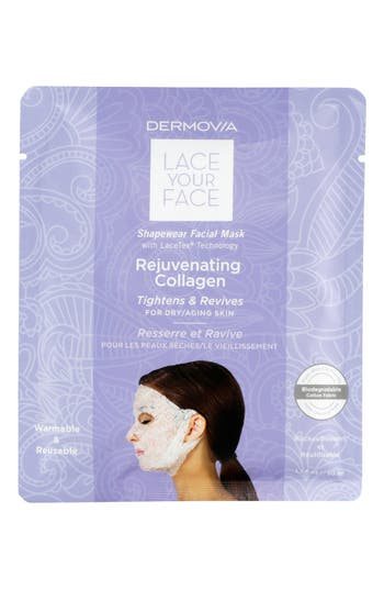 Dermovia Lace Your Face Rejuvenating Collagen Compression Facial Mask