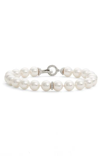 Women's Nadri Single Row Imitation Pearl Bracelet